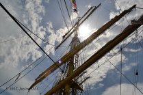 El Velero Rumano Mircea es un velero del tipo barca de tres mástile (46)