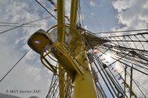 El Velero Rumano Mircea es un velero del tipo barca de tres mástile (47)