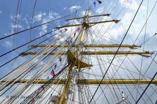 El Velero Rumano Mircea es un velero del tipo barca de tres mástile (52)
