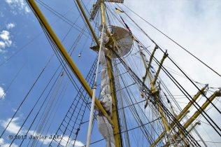 El Velero Rumano Mircea es un velero del tipo barca de tres mástile (63)
