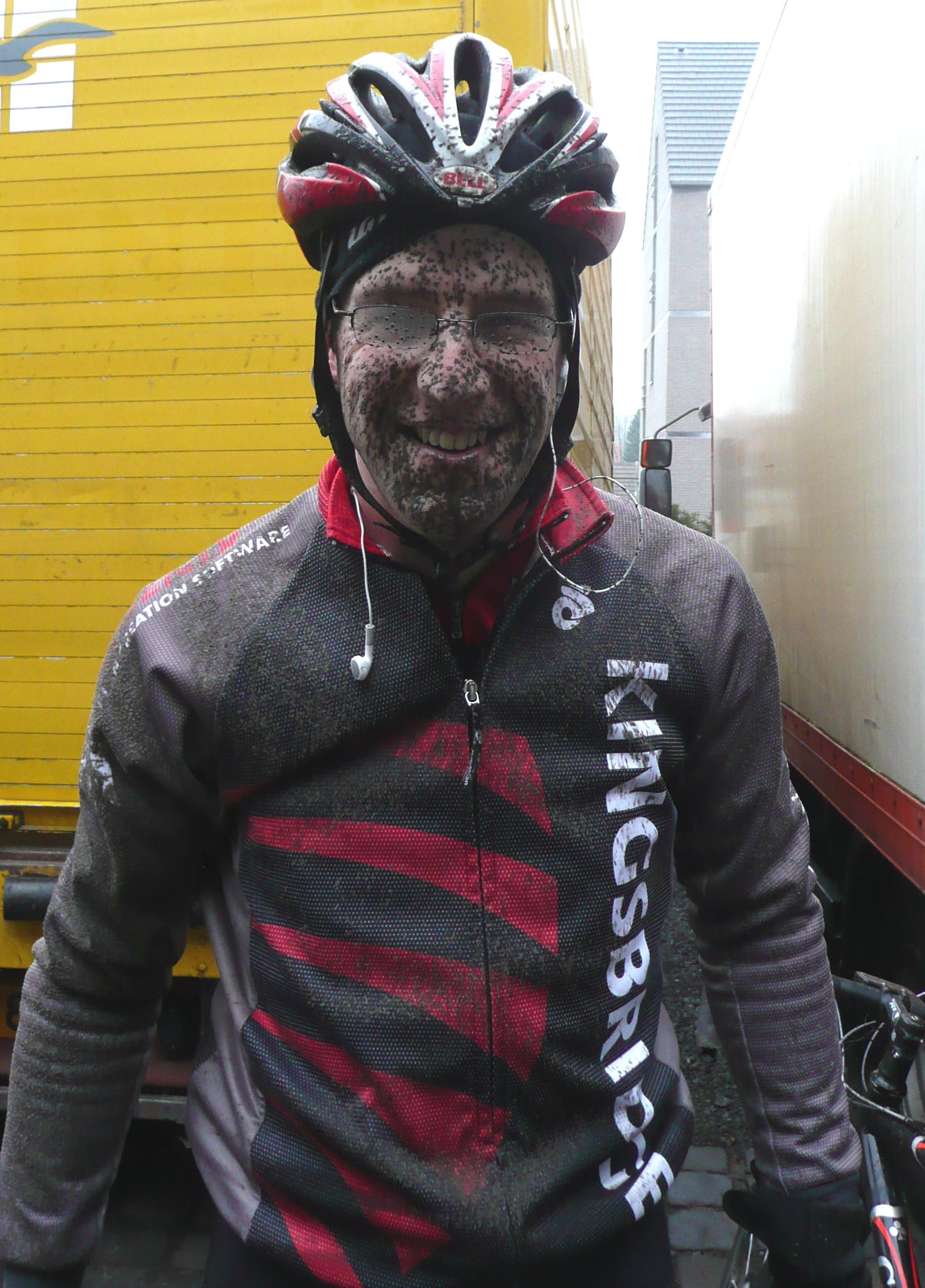Muddy and happy