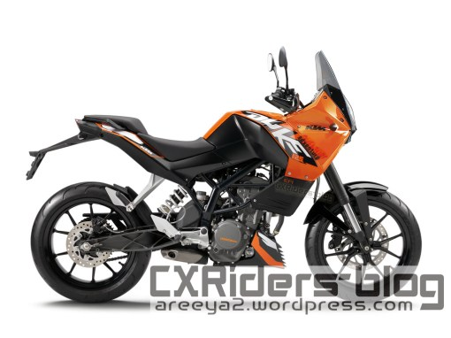 ktm duke supermoto adventure