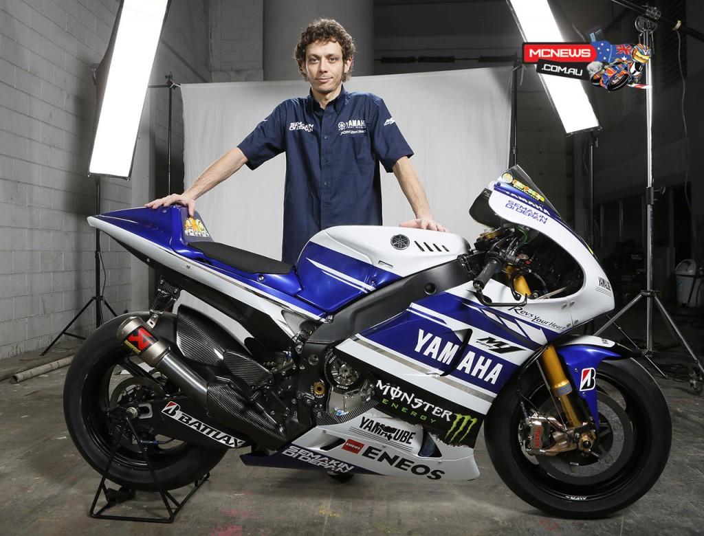 The 2014 Yamaha YZR-M1 Breaks Cover in Indonesia - Asphalt
