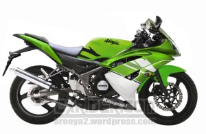 modifikasi ninja 150 rr r61