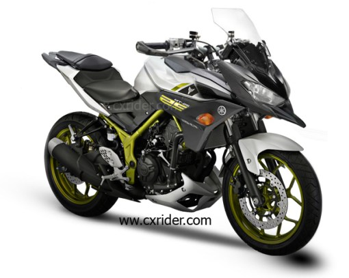 modifikasi yamaha mt25 touring