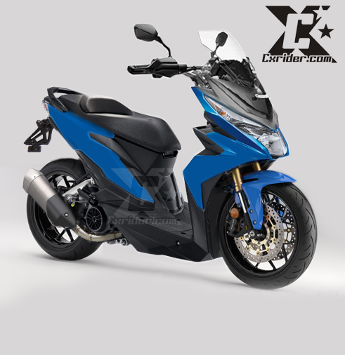 modifikasi honda all new beat 125 touring