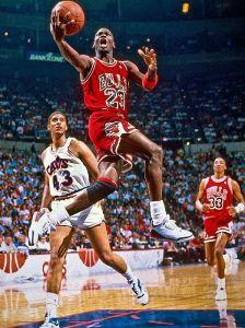 Air Jordan en action...