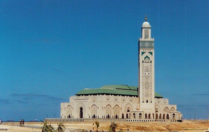 La grande mosquée Hassan II à Casablanca