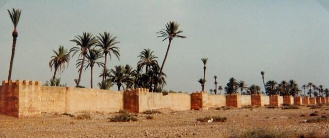 Les remparts de Marrakech