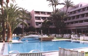 L'hôtel paladien Tropicana