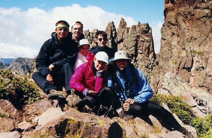 L'équipe au sommet