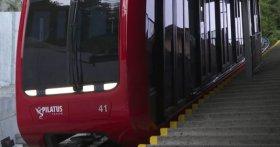 Pilatus-Bahn: So fährt es sich mit der neuen Zahnradbahn