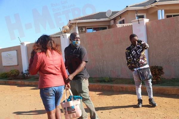 DRAMA As Married Woman Is Caught