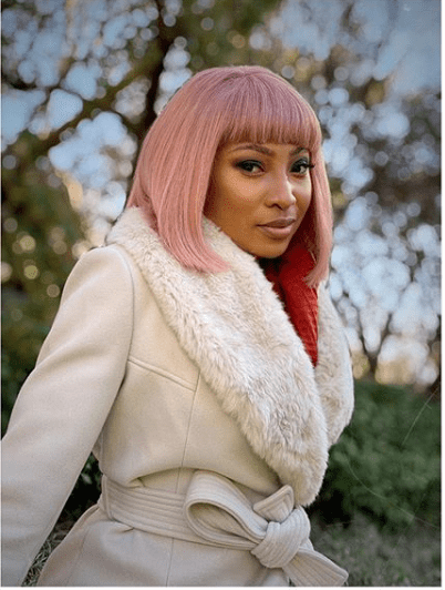 Enhle Mbali Tests Positive For COVID-19