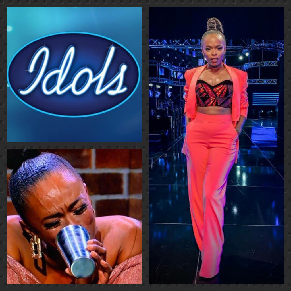 Idols Fans Accuse Unathi Of Lying To Contestants