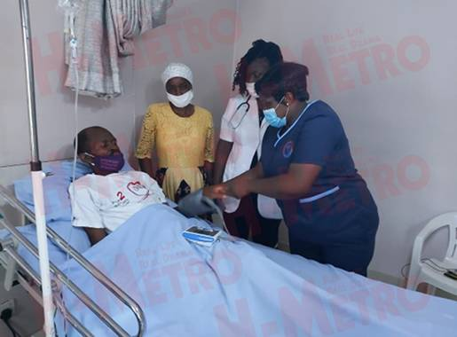 Ailing Gringo Hospitalized, Doctors Offer Him Free Treatment-iHarare