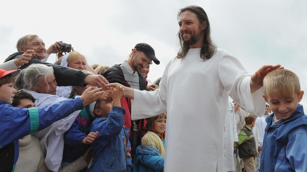 Man Who Claims To Be Jesus Arrested