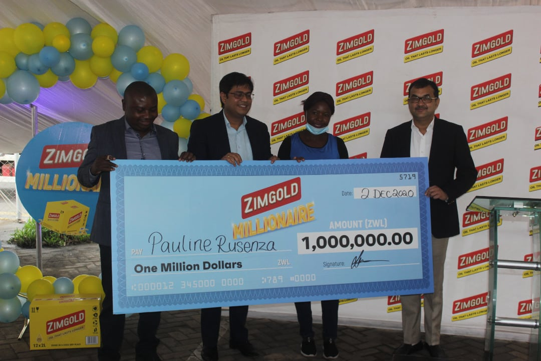 Concession Woman Wins ZWL$ 1 Million Cash Prize In The Zimgold Millionaire Promotion-iHarare