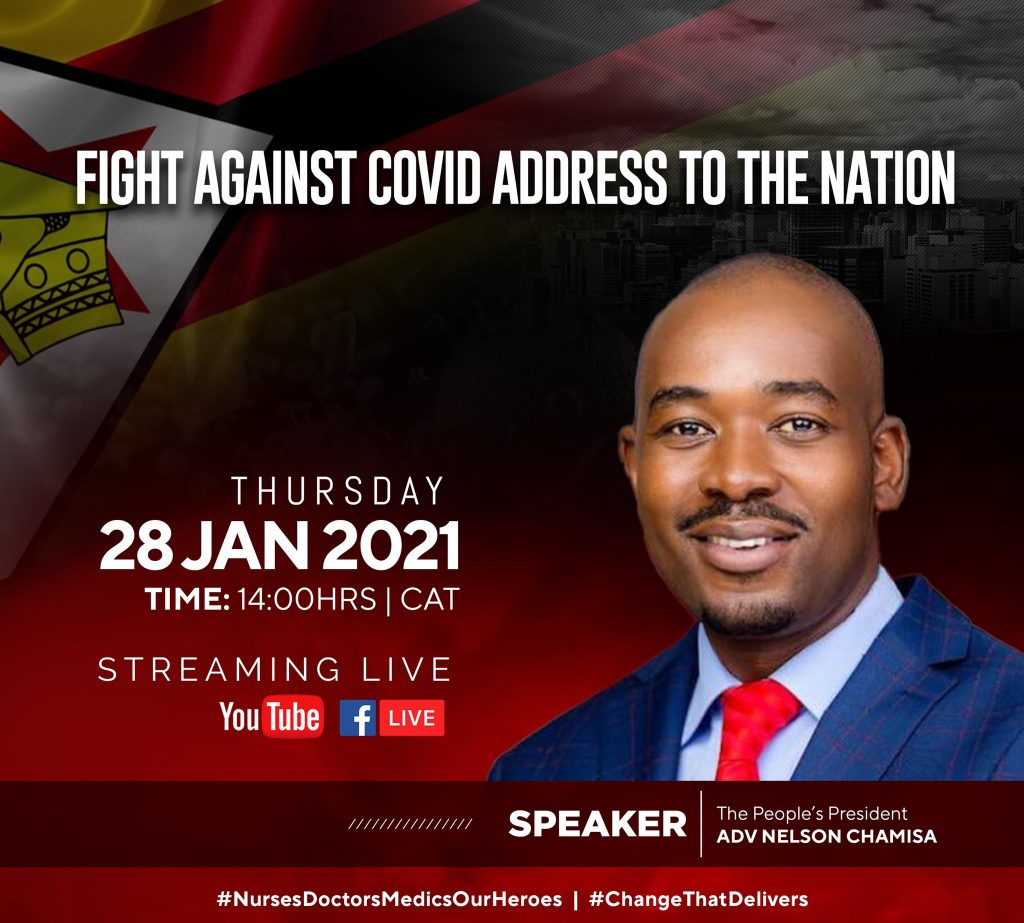 Nelson Chamisa Sparks Controversy, Tells Govt To Open Churches