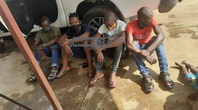 Four Zim Border Jumpers Busted With Illegal Firearm In South Africa-iHarare