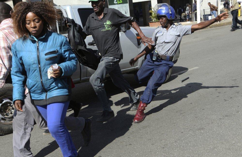 Police threaten businesses