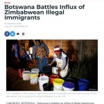 Zimbabweans Cause Havoc in SADC