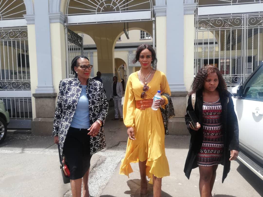 Marry Mubaiwa Chiwenga Back At Chikurubi