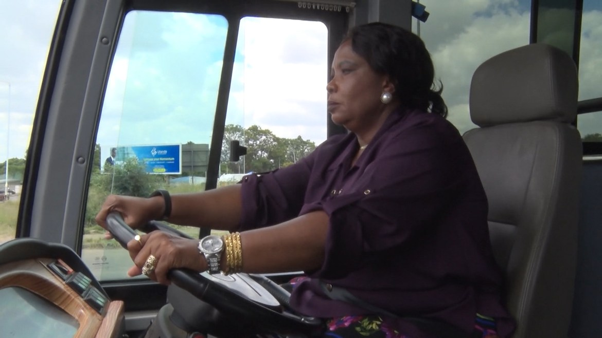 'First Lady Runs Car Hire Company Which Has No Cars'