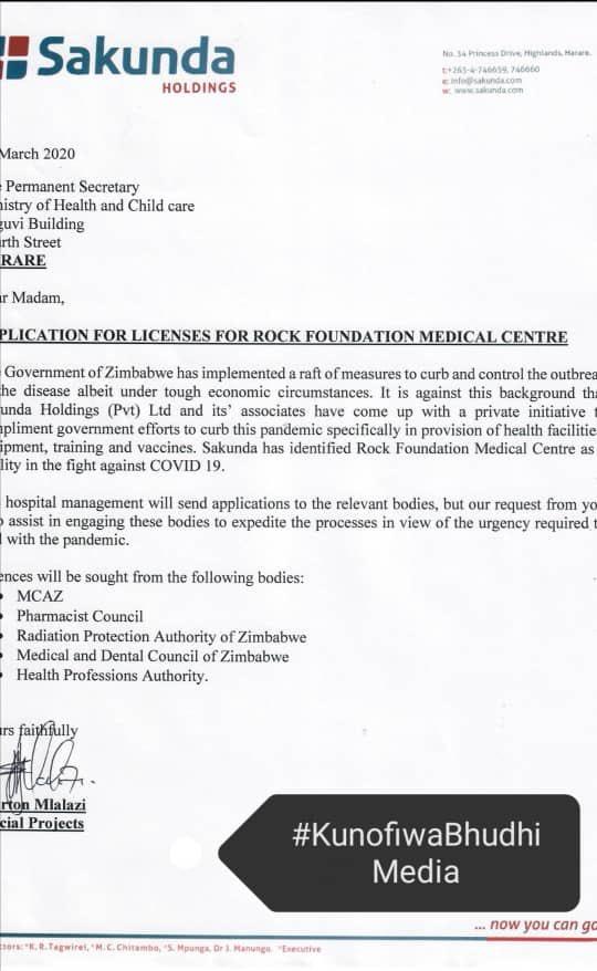 Kuda Tagwirei To Revive Two Hospitals For Coronavirus