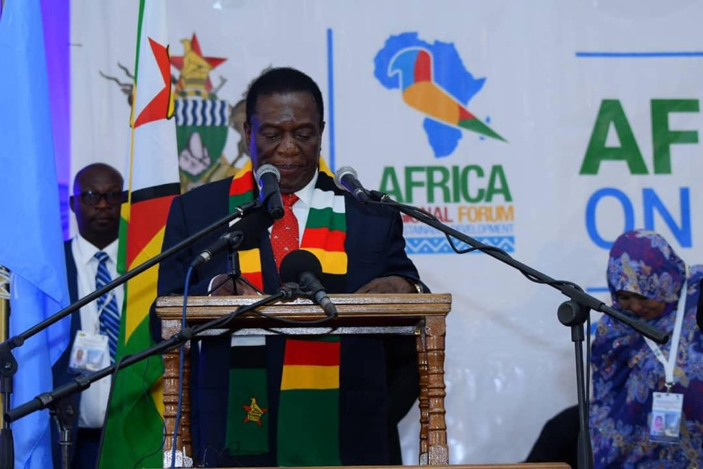 Mnangagwa Sets Up Covid-19 Taskforce