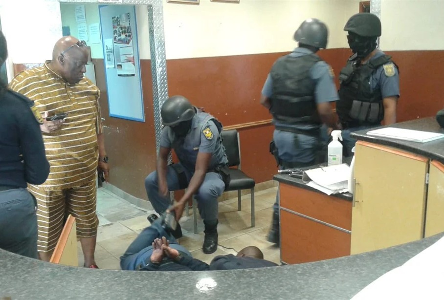 SA Police Officers Arrested
