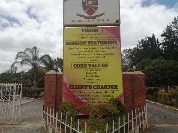 Mkoba 3 High School