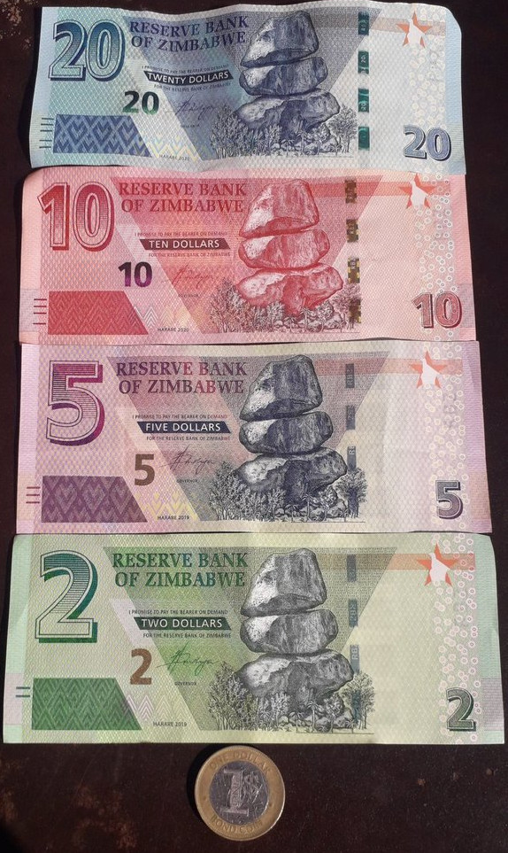 202 people arrested for rejecting Zim currency
