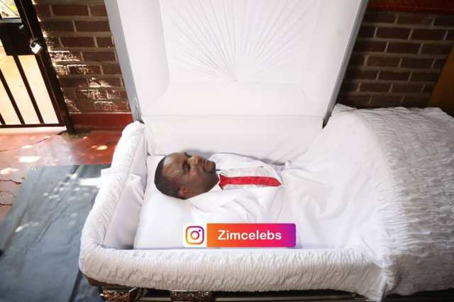Prophet T. Freddy Sets The Record Straight After Pics Of Him In A Coffin Went Viral