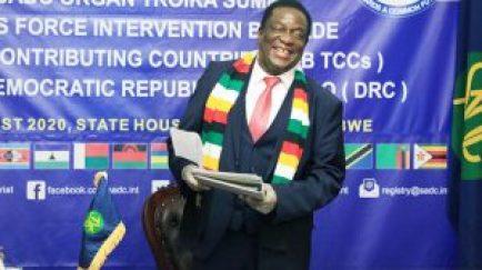 SADC Thanks Mnangagwa's leadership