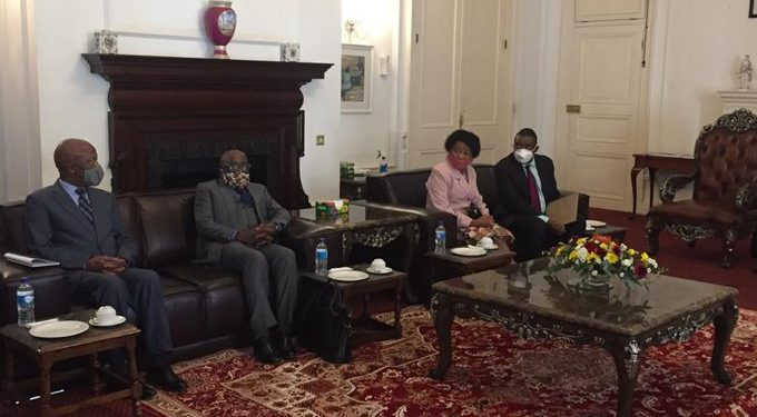 South African Envoys Returns Back To South Africa