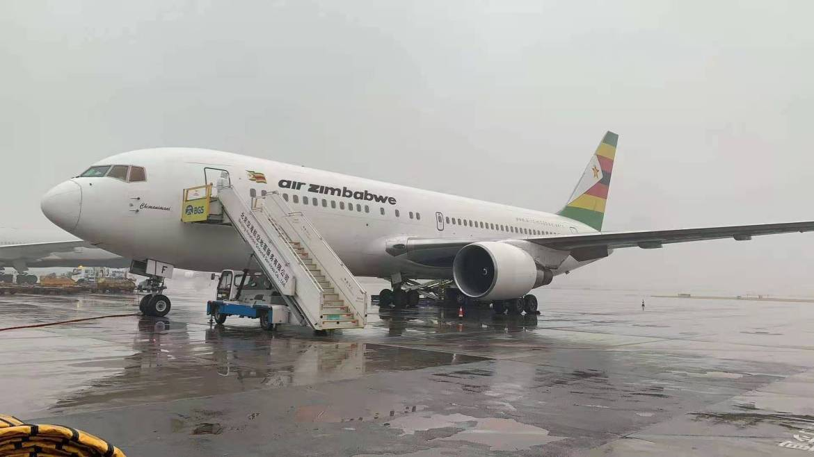 South Africans Fume As Air Zimbabwe Plane Collects Covid-19 Vaccine In China