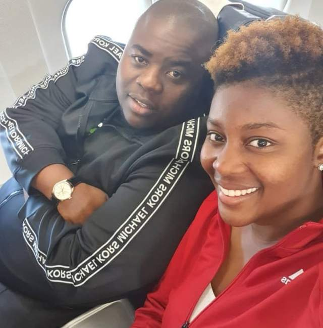Drama Continues After Sir Wicknell's Is Spotted With Another Woman In South Africa