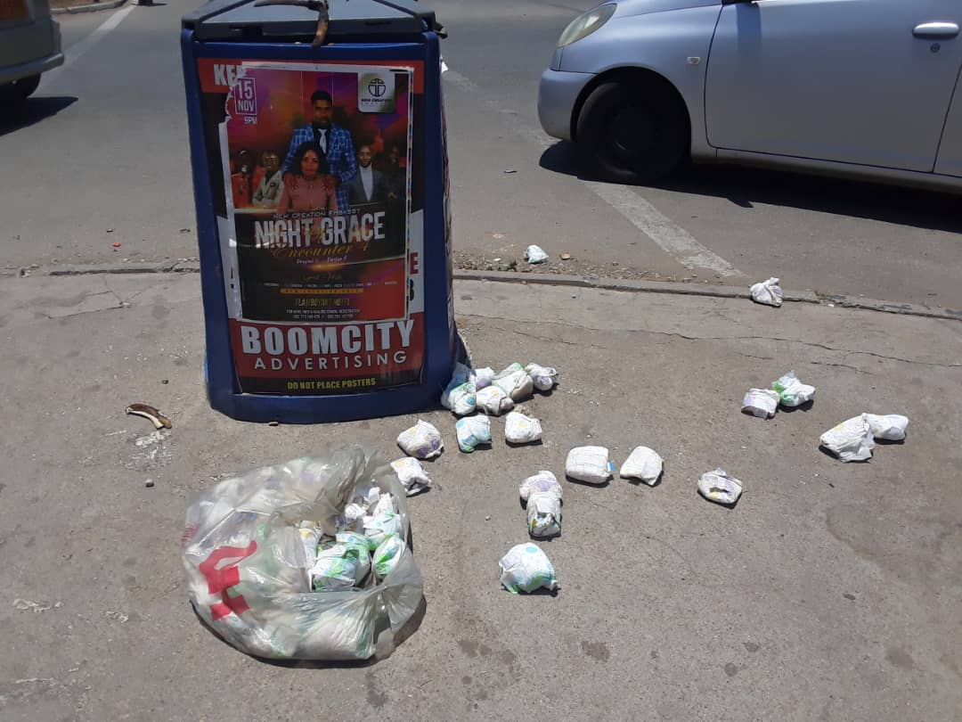 Zimbabwe Youths Boil Used Sanitary Pads For Liquid To Make Drugs