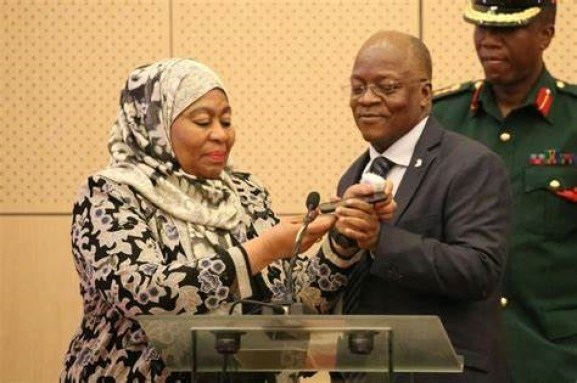 Tanzania VP Samia Hassan Suluhu Set To Become First-Ever Female President Following Magufuli's Death-iHarare
