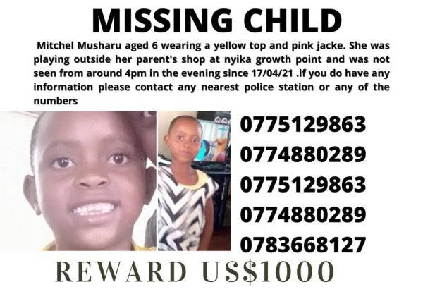 More Details Emerge On Missing Bikita 6-Year-Old Child Found Dead In Septic Tank