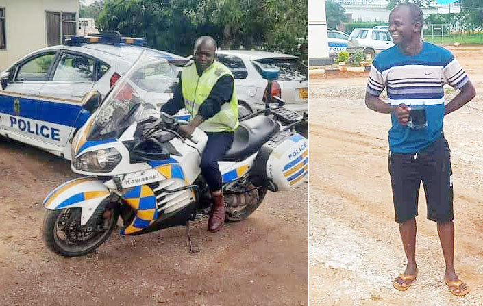 Police Officer Arrested For Causing First Lady's Motorcade Accident Which Killed Biker