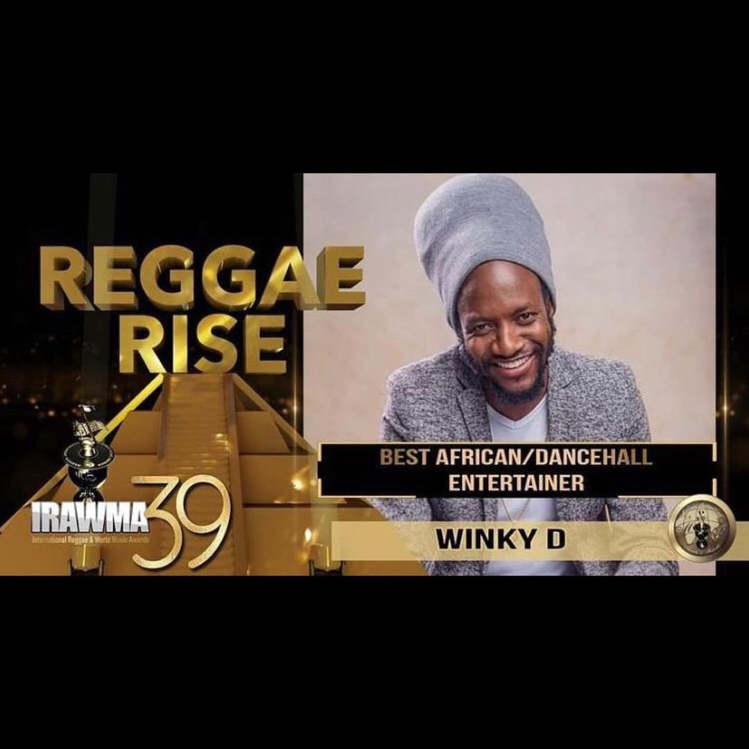 Fans Overjoyed As Winky D Bags Another International Award-iHarare