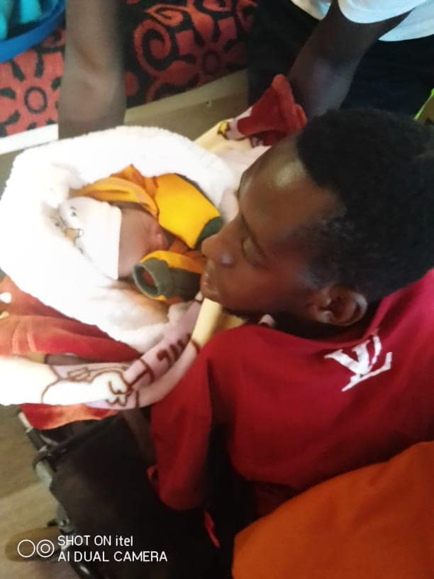 Musician Greatman Ecstatic Following Birth of Son, Pens Song For Bundle of Joy