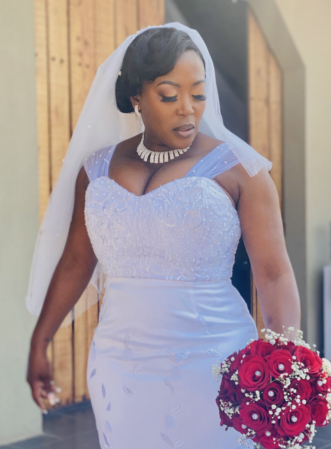 Actress Rami Chuene's Surprise Wedding Over The Weekend. See Pictures