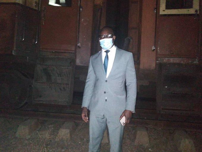 Pics: Nick Mangwana Shares His Journey On The Zupco Train