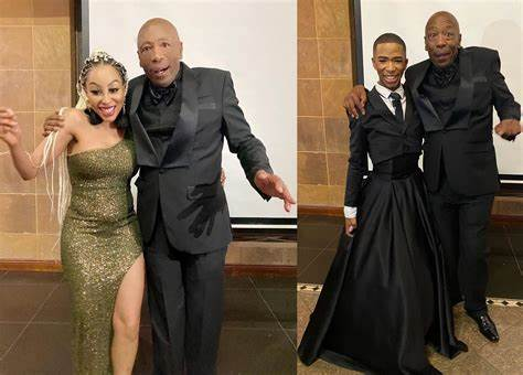 Lasizwe And Khanyi Mbau Remember Late Father 1-Year After His Death-iHarare