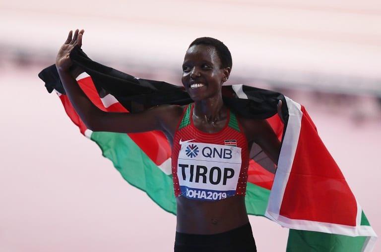 Kenyan World Record Holder Agnes Tirop Stabbed To Death, Husband Named As Prime Suspect