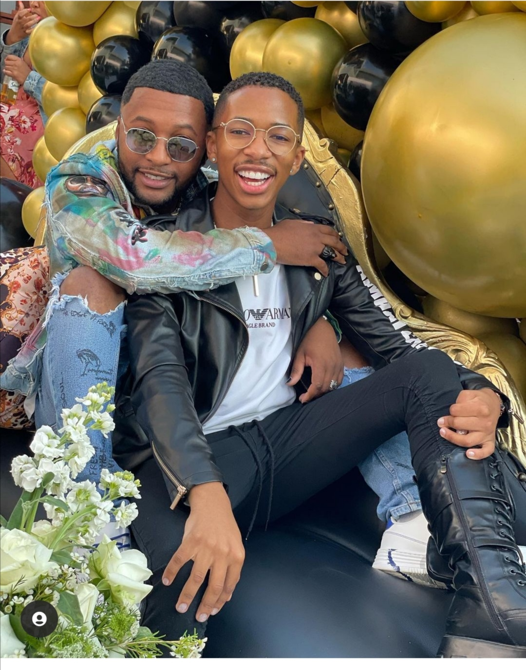 Vusi Nova And Lasizwe Spark Dating Rumours With Romantic Picture