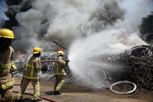 Firefighters Shortage Hits City Of Harare